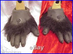 Planet Of The Apes Rick Baker Foot Glove With Hair Genuine Movie Prop With Coa