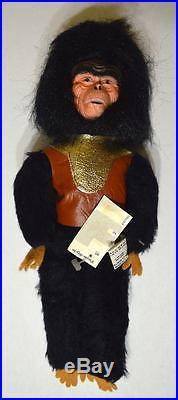 Planet Of The Apes STUFFED DOLL GORILLA 1974 MINT w TAGS Rare APJAC