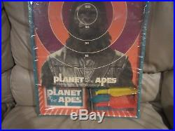 Planet Of The Apes Safety Dart Game TRANSOGRAM 1974-Never Played-Orig. Packaging