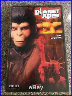 Planet Of The Apes Sideshow 12 1/6 Scale Zira Not Hot Toys or DX Sealed