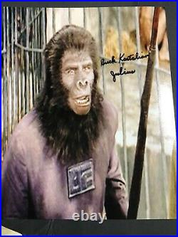 Planet Of The Apes Signed Photo Lot