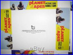 Planet Of The Apes Topps Card 36ct Display Box Unscored Unfolded Proof