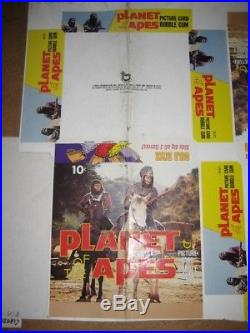 Planet Of The Apes Topps Card 36ct Double Display Box Unscored Unfolded Proof