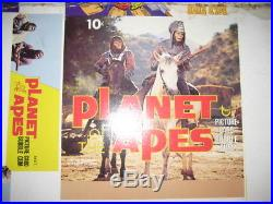 Planet Of The Apes Topps Card 36ct Triple Display Box Unscored Unfolded Proof
