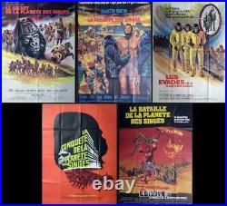 Planet Of The Apes Ultimate Collection Original Large French Movie Posters