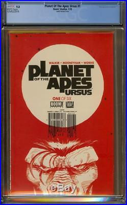 Planet Of The Apes Ursus #1 CGC 9.8 WP Bob Larkin Trade Variant Hard to Find