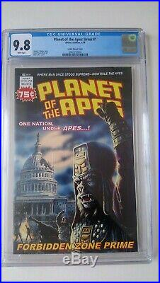 Planet Of The Apes Ursus # 1 Cgc 9.8 Nm+/mint Larkin Variant Cover 2018 Scarce