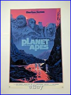 Planet Of The Apes Variant Laurent Durieux Poster Print Mondo Gallery IN HAND
