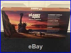 Planet Of the Apes SDCC 2015 Exclusive 3 Figure Set Aldo, Caesar & Gorilla New
