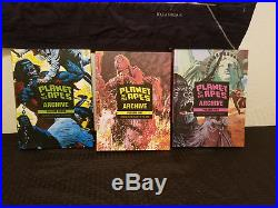Planet of The Apes Archive Volume 1 2 3 Hardcover Boom Studios Near Mint