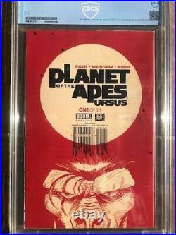 Planet of The Apes Boom Studio# 1 CBCS 9.6 NM+ LARKIN VIRGIN VARIANT COVER 2018