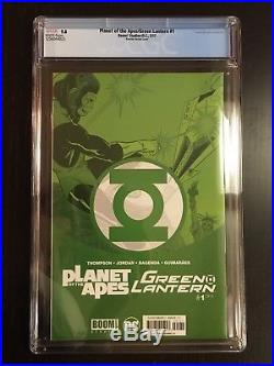 Planet of The Apes Green Lantern #1 Rivoche Showcase 22 Variant CGC 9.8 NM/MT