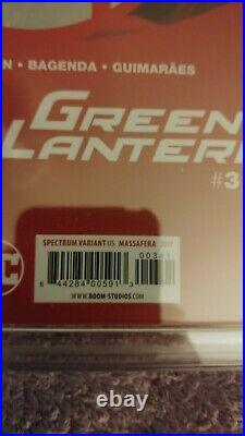 Planet of The Apes/ Green Lantern #3 #CGC 9.8 Massafera Variant Cover