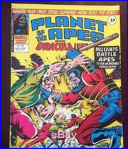 Planet of The Apes, from 1974-77/No. 1- 123+POSTER