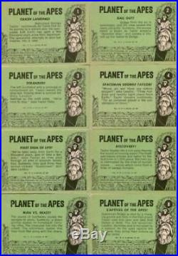 Planet of the Apes 1967 Topps Vintage Card Set 44 Cards