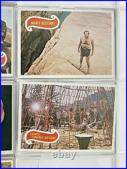 Planet of the Apes 1967 Topps Vintage Trading Card Set 44 Cards Green Back