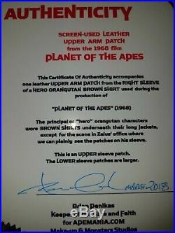 Planet of the Apes 1968 Hero Orangutan Arm Patch
