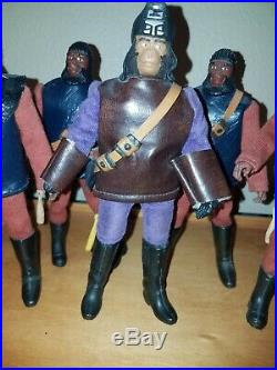 Planet of the Apes 1974 MEGO/Custom lot of 6