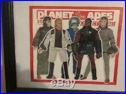 Planet of the Apes 1974 MEGO Sticker Vending Display