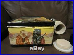 Planet of the Apes 1974 Vintage Aladdin Lunchbox with Thermos