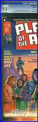 Planet of the Apes #1 CGC 9.8 Movie Adaptation Bob Larkin Cover Marvel Comics