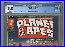 Planet of the Apes 1st Ongoing Series 1974 Curtis / Marvel White Pages CGC 9.8