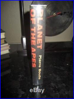 Planet of the Apes 1st edition first printing Pierre Boulle War for the book
