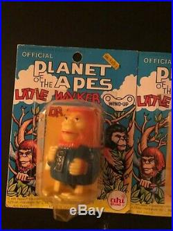 Planet of the Apes AHI 1974 Wind Up Walkers Galen and Zaius