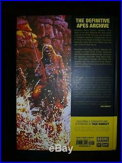 Planet of the Apes Archives FULL SET Vol 1 2 3 4 Boom! Studios HC Books