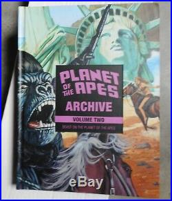 Planet of the Apes Archives Volume Two 2 v. Vol. Dark Horse HC brand new unread