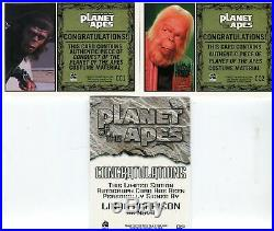 Planet of the Apes Behind The Scenes Card Set Linda Harrison Autograph Costumes