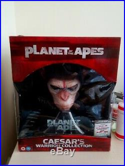 Planet of the Apes Caesar's Warrior Collection 8 Head Bust Blu-ray