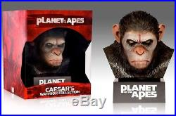 Planet of the Apes Caesars Head Box 8-Disc Blu Ray