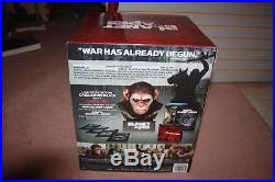 Planet of the Apes Caesars Warrior Collection (Blu-ray Disc, 2014, 4-Disc Set)