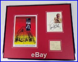 Planet of the Apes Cast Signed Framed 16x20 Photo Display JSA Heston McDowall