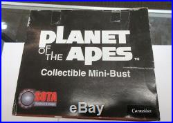 Planet of the Apes Collectible Mini Bust CORNELIUS 2002