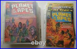 Planet of the Apes Comic Books 29 issues 1-24, 26 + 4 dbls (Curtis, 1974-1976)