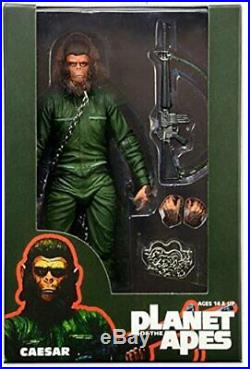 Planet of the Apes Conquest Gorilla, Caesar, General Aldo. Series 3. NECA