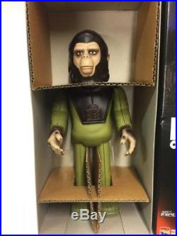Planet of the Apes Cornelius Wind Up Walking Tin Figure Medicom Toy Japan F/S
