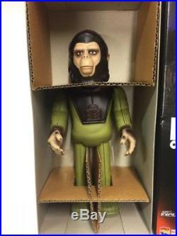 Planet of the Apes Cornelius Wind Up Walking Tin Figure Medicom Toy Japan F/S