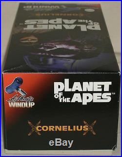 Planet of the Apes Cornelius Wind up Tin Action Figures Dolls Medicom Toy New