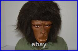Planet of the Apes DVD Ultimate Collection with Caesar Storage Bust