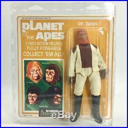 Planet of the Apes Diamond Select EMCE, Complete 4 Figure Set, 2008 MOC, MEGO