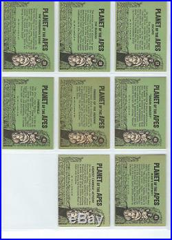 Planet of the Apes (Green) Complete Card SET (44) 1969 Topps T. C. G. USA EX+/NM