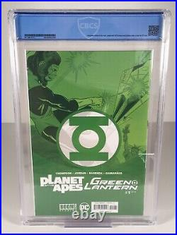 Planet of the Apes Green Lantern #1 CBCS 9.8 NM/M Classic Variant Showcase #22