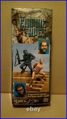 Planet of the Apes HESTON and ape Model Kit metal resin