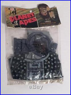 Planet of the Apes Ideal 18 inch URKO Inflating figure 1970's MIP SUPER RARE