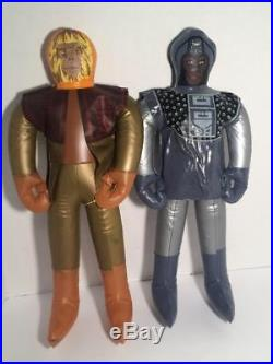 Planet of the Apes Inflating 19 inch figures Ideal Zaius Urko vintage SCARCE