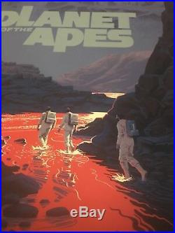 Planet of the Apes Laurent Durieux VARIANT Poster Screen Print Mondo SOLD OUT
