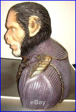 Planet of the Apes, Lifesize General Thade bust replica movie prop